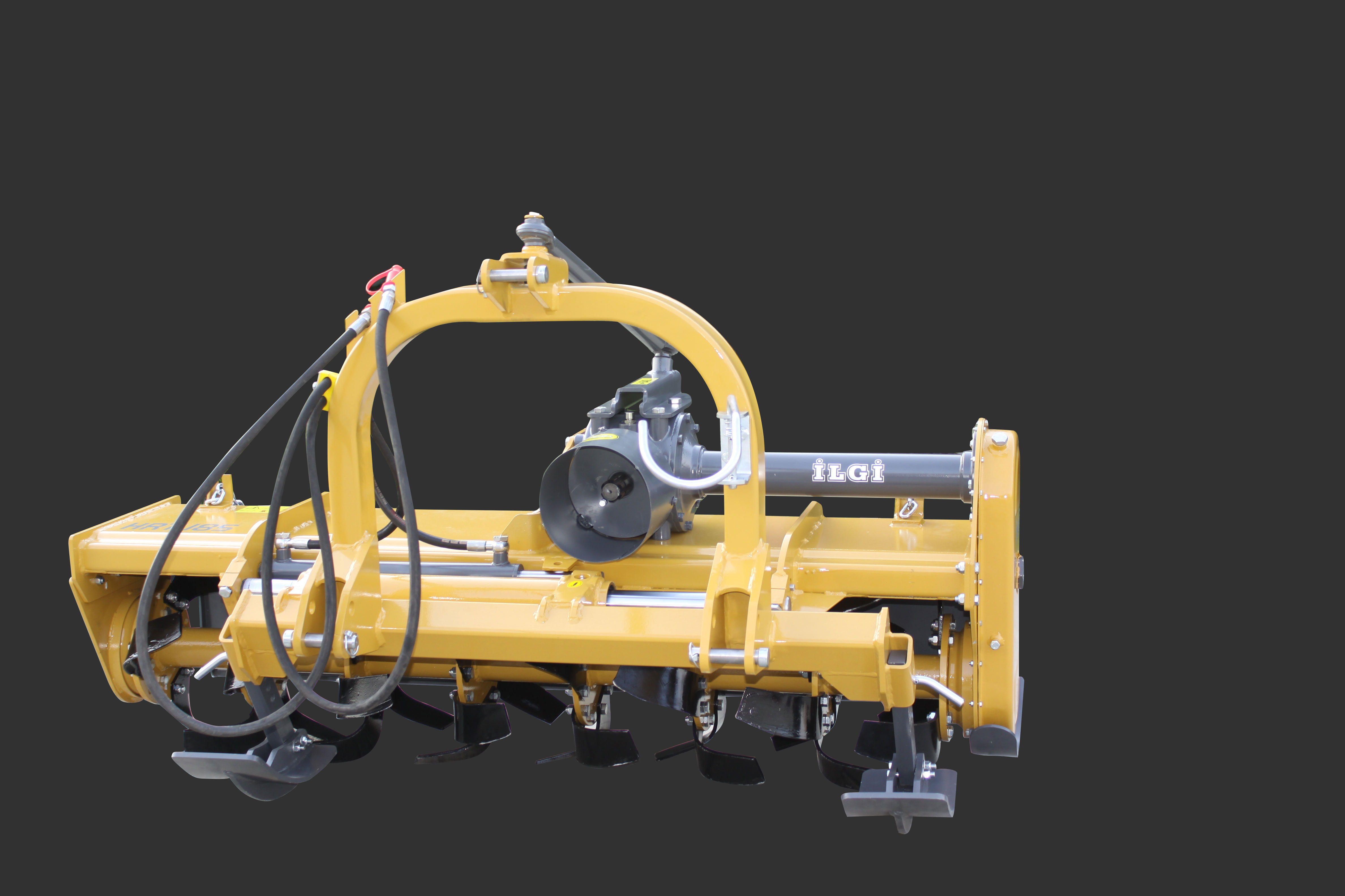 Rotary Tiller Hydraulic Side Shifting